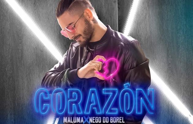 Maluma se mantiene en el top ten del Hit Parade.