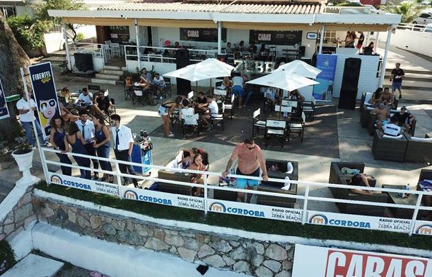 Zebra Beach (Costa Azul) parador exclusivo de FM Córdoba