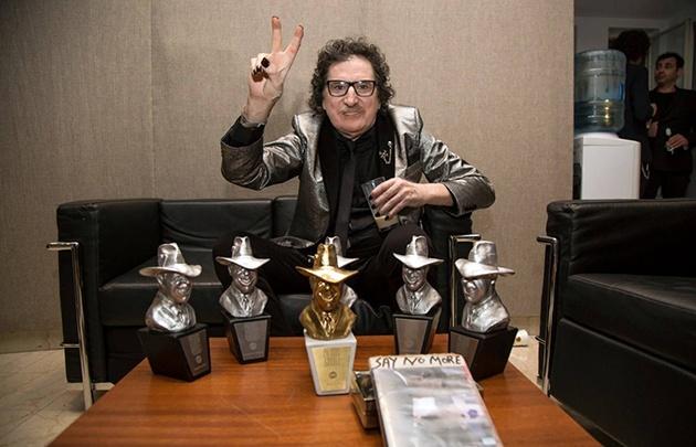 La estrella del rock se llevó seis premios de las siete nominaciones que tenía.
