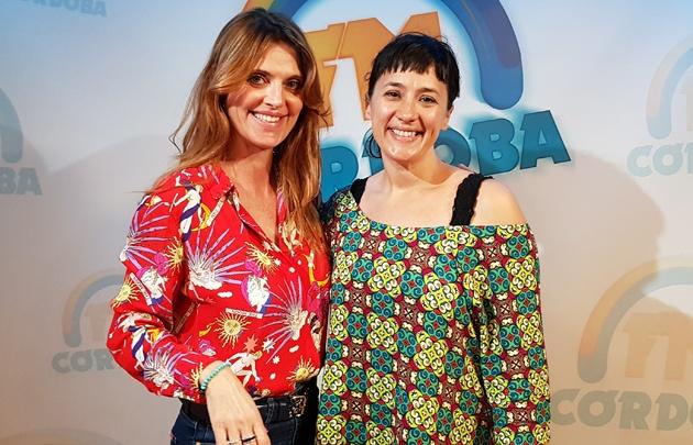''Según Roxy'' en el estudio de FM Córdoba.