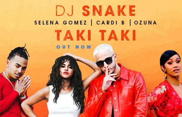 ''Taki taki'' se mantiene firme dentro del Top Ten de Hit Parade.