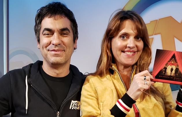 Marino Martínez voz y libder de Attaque 77