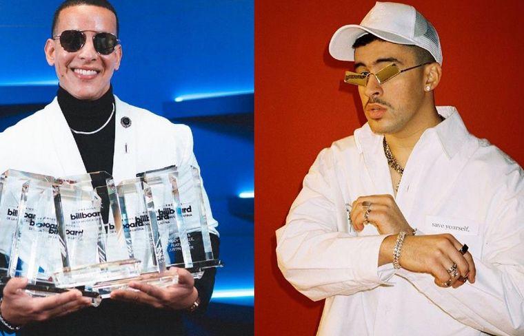 Bad Bunny y Daddy Yankee, los grandes ganadores de la noche