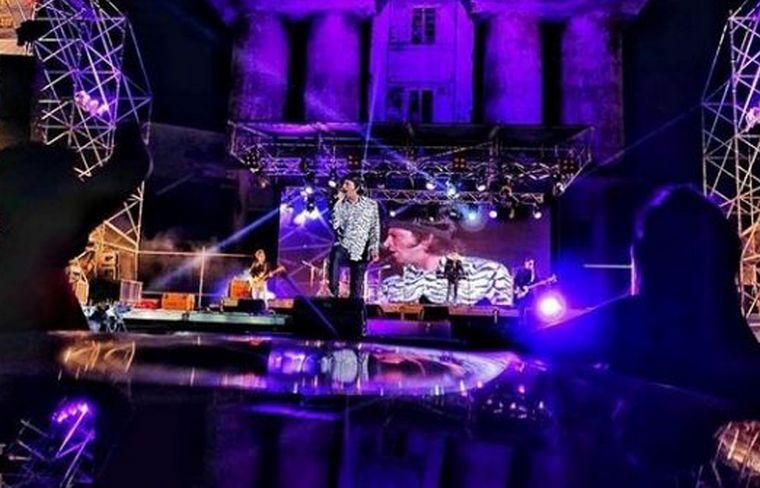 El recital contó con otros invitados como Coti, Moska Lorenzo y Cucho Parisi.
