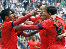 Espanyol 0 - Barcelona 2