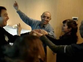 El equipo de Juntos bailando El Pericón