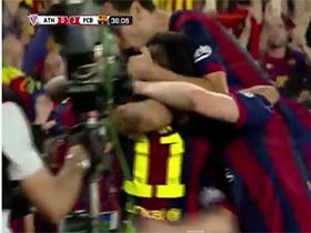 Barcelona 3 vs. Atletico de Bilbao 1 - Copa Del Rey