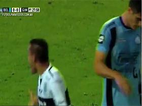 Gol de Rojas. Belgrano 0 Gimnasia 1
