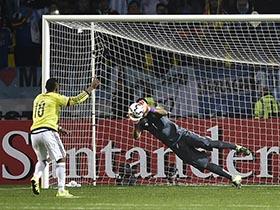 Argentina 5 vs Colombia 4 -Definición por Penales