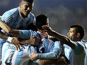 Argentina 6 vs Paraguay 1 - Copa América Chile 2015