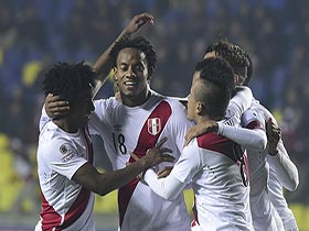 Perú 2 vs Paraguay 0 -  Copa América Chile 2015