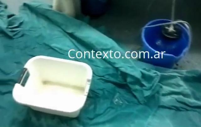 Se inundó un hospital recientemente inaugurado en Tucumán.