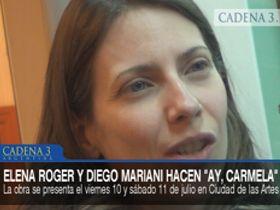 Elena Roger y Diego Mariani en Juntos
