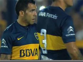 Gol de Tevez. Boca 3 - Banfield 0. 16vos de Final. Copa Argentina 2015