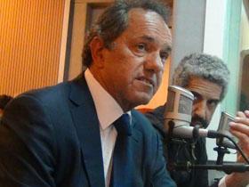 Daniel Scioli en Juntos