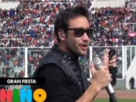 Luciano Pereyra en la Fiesta del Niño de Cadena 3