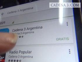 Cómo bajar y utilizar la nueva App de Cadena 3