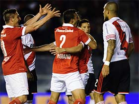 Independiente 3  vs  River 0