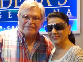Rony Vargas Bailó tango con Carmen Flores