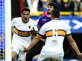 Festejo de Boca campeón