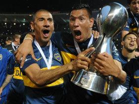 El festejo del Boca campeón de la Copa Argentina