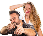 Javi Rosemberg y Fla Dellamaggiore