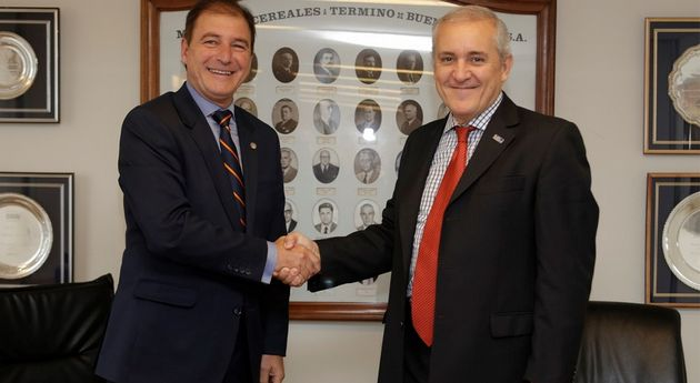 FOTO: Ambos son presidentes de MATba y de Rofex