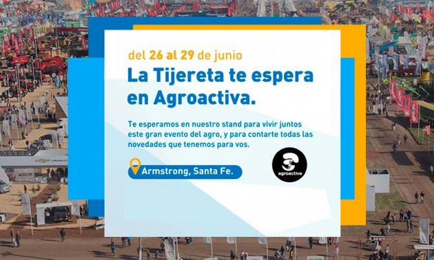 FOTO: La Tijereta participará de Agroactiva 2019.
