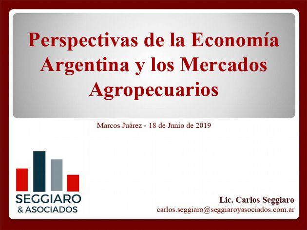 AUDIO: Carlos Seggiaro - Perspectivas de los Mercados Agropecuarios