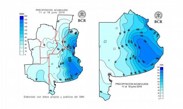 FOTO: Las precipitaciones acumularon más de 100 mm en el 40% de provincia de Buenos Aires.