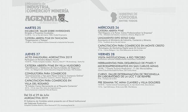 FOTO: Córdoba tendrá récord de firmas locales en Agroactiva.