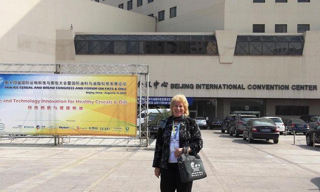 FOTO: Cuniberti en el Congreso Internacional del Cereal y el Pan.