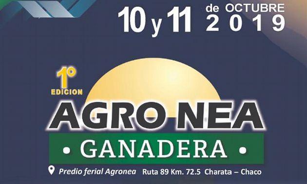 """FOTO: Primera """"Agronea ganadera"""", en Charata el 10 y 11 de octubre."""