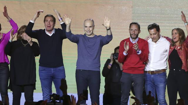FOTO: Contundente victoria de Rodríguez Larreta en Capital Federal