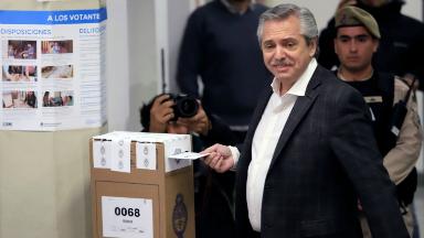 AUDIO: Alberto Fernández: Estoy seguro que las gente nos acompañará