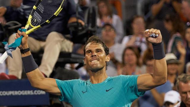 FOTO: Nadal vapuleó a Medvedev y repitió el título en Canadá