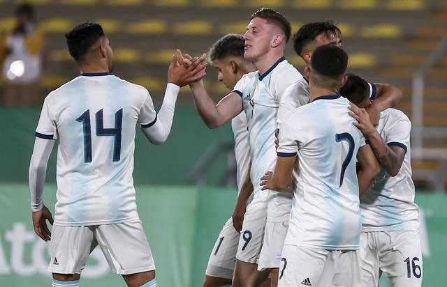 FOTO: La Sub 23 goleó a Honduras y se quedó con la medalla dorada