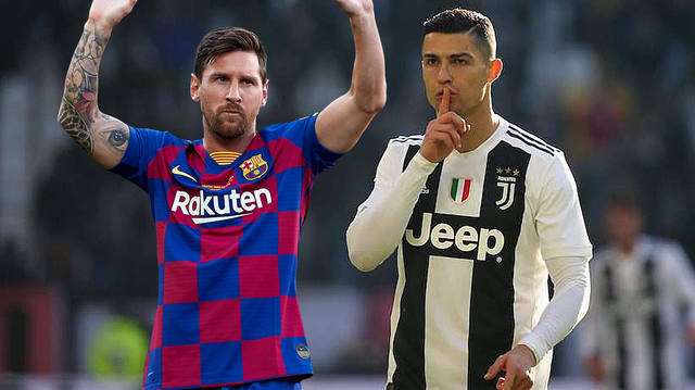 FOTO: Ronaldo se comparó con Messi aunque resaltó sus logros