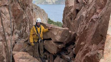 AUDIO: Ruta 40: realizarán microdetonaciones para derribar rocas