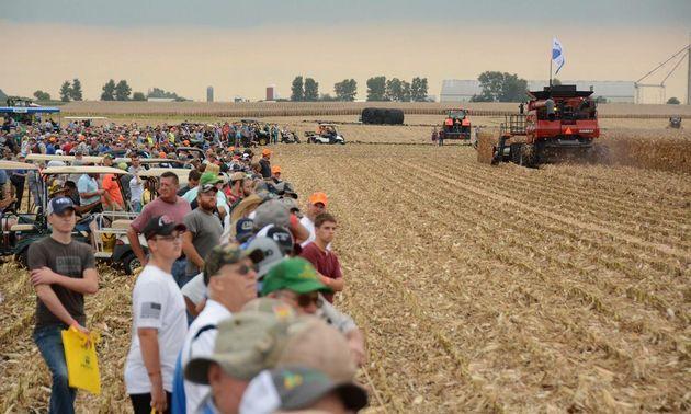 FOTO: Con fuerte presencia argentina arranca el Farm progress show.