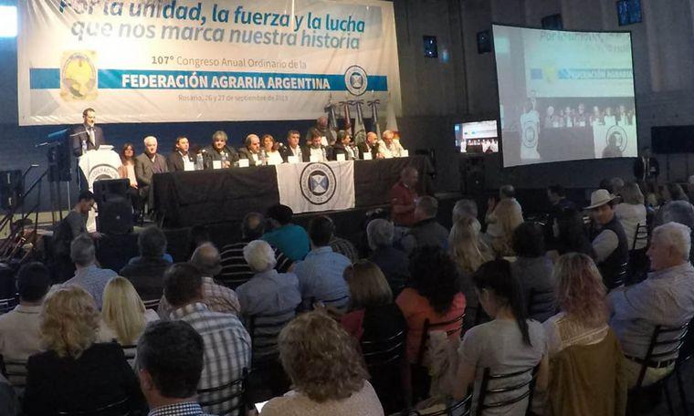AUDIO: Carlos Achetoni - Reelecto Presidente de Federación Agraria Argentina.