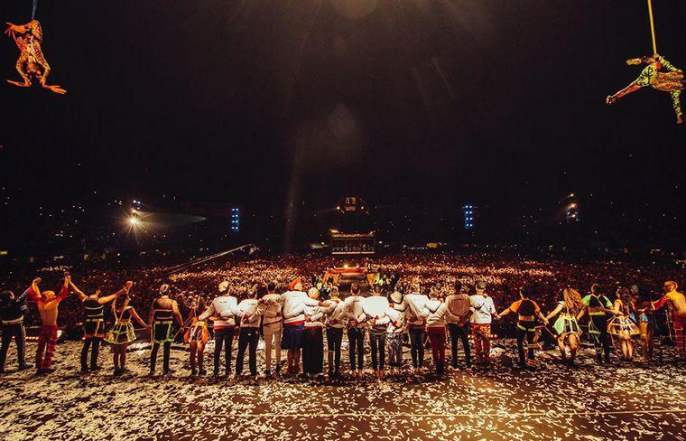 FOTO: Los Caligaris hicieron la noche más feliz en el Foro Sol (México).