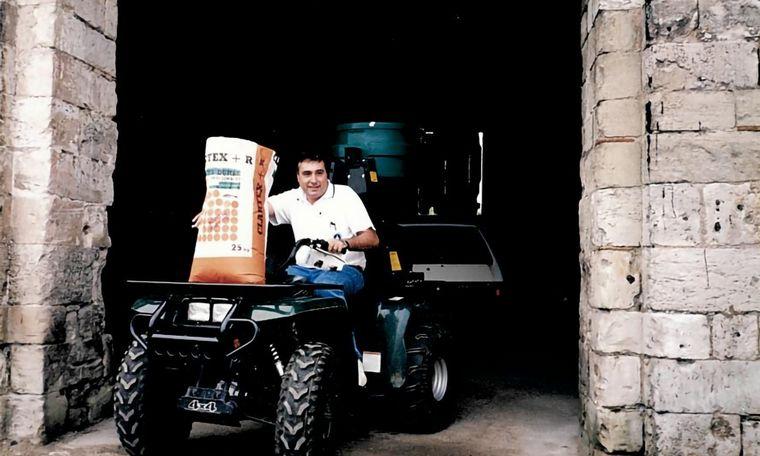 FOTO: Ricardo Yapur, CEO de Rizobacter, empresa líder en microbiología agrícola.