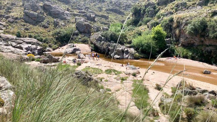 VIDEO: Río Yuspe en Los Gigantes