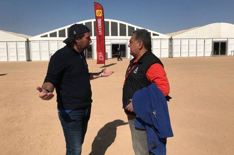 FOTO: Luis Gómez, el cordobés es uno de los comisarios de la carrera