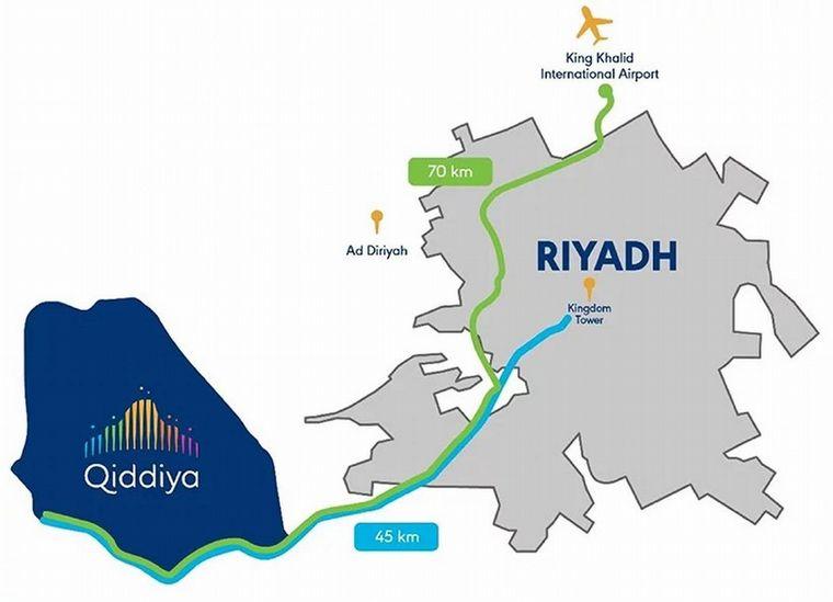 FOTO: Dividida en nodos temáticos, Qiddiyah será sorprente