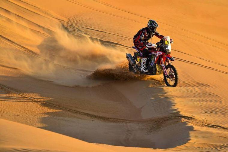 FOTO: Quintanilla aceleró todo para quedarse con la penúltima etapa del Dakar