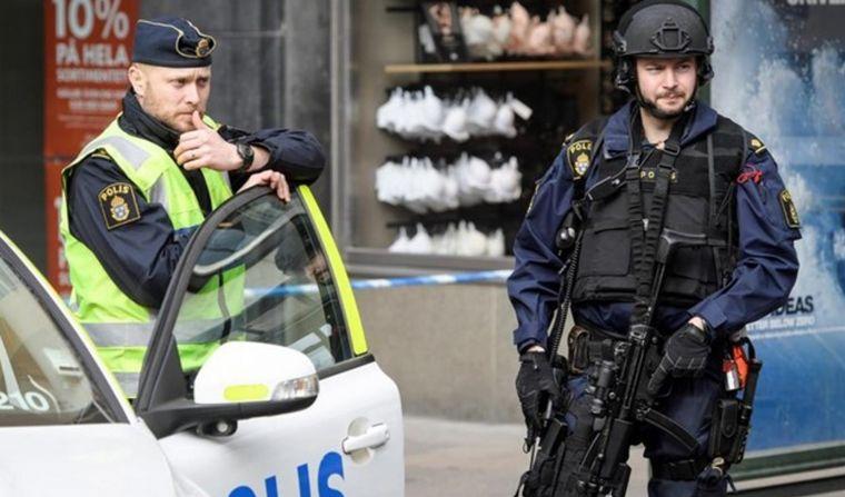 FOTO: Policía sueca.