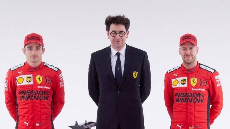 FOTO: Vettel se siente fuerte para seguir en Ferrari