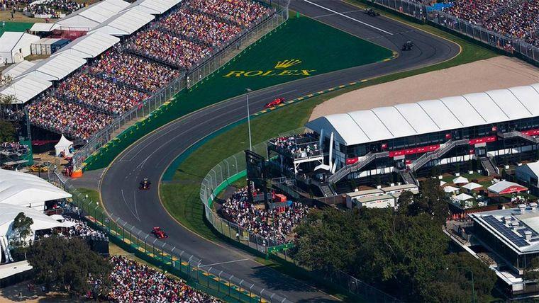FOTO: Albert Park en Melbourne es un precioso lugar con un gran circuito de F1